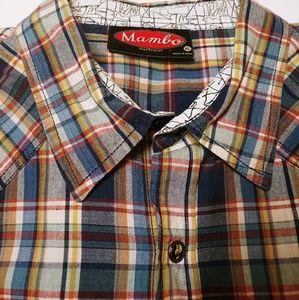 Mambo button down shirt.